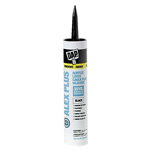 dap-18126-101-oz-black-alex-plusr-acrylic-latex-caulk-plus-silicone