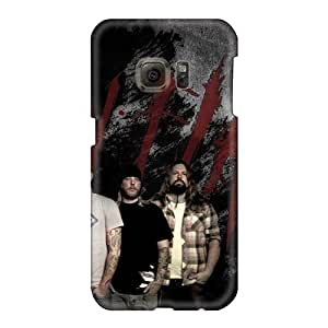 Samsung Galaxy S6 Yzc13063oEzl Unique Design Vivid In Flames Band Pattern Durable Hard Phone Cover -ChristopherWalsh