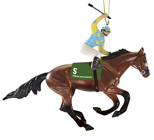 Breyer horse ornaments - Breyer 9179 American Pharoah Ornament, 4.9 X 4-Inches by Breyer
