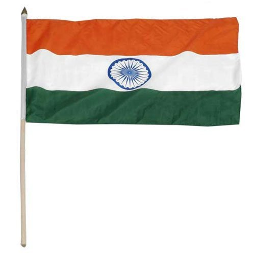 India Flag 12 x 18 inch - And Online Store India