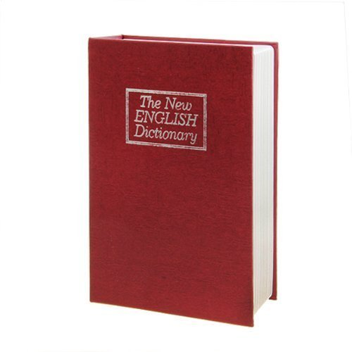 Oxford Street Large Red English Dictionary Secret Book Safe Money Box Jewellery Security by Oxford Street