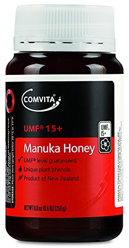 Comvita Manuka Honey UMF 15+ (Super Premium) New Zealand Honey, 250g (8.8oz)
