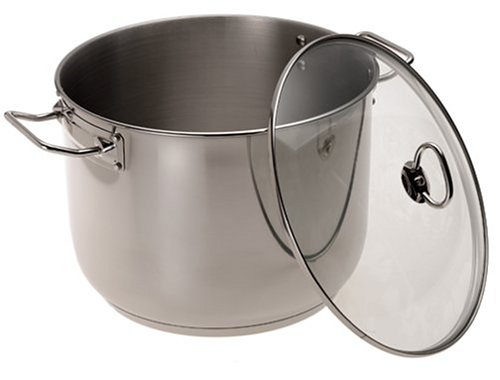 24 Quart Stock Pot- All Purpose, Stainless Steel Cooking Pot by Camerons Products by Camerons Products: Amazon.es: Hogar