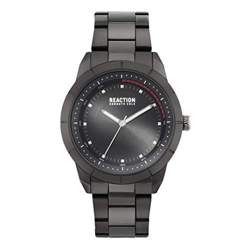 - Kenneth Cole REACTION Men's SPORT Analog-Quartz Watch with Alloy Strap, Black, 22 (Model: RK50553001)