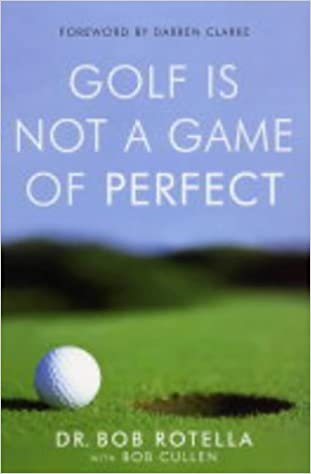 golf is not a game of perfect english edition