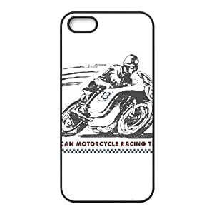 American Motorcycle Racing Team iPhone 5 5s Cell Phone Case Black Protect your phone BVS_703394