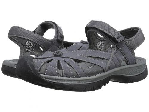 Keen(キーン) レディース 女性用 シューズ 靴 サンダル Rose Sandal - Magnet/Gargoyle [並行輸入品]