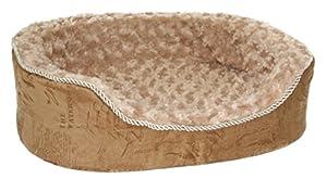 B002YIPD7GTAE Best Pet Supplies Premium Plush Bed, Small, Tan