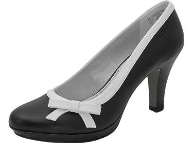 36c5bff65b7772 bugatti shoes Pumps Schwarz Weiß - Pumps - schwarz
