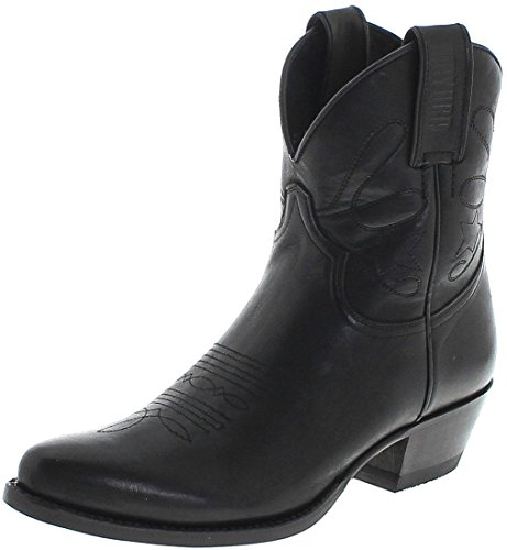 Negro für Mayura Schwarz Damen Boots Fashion 2374 Stiefelette Sq6xBq