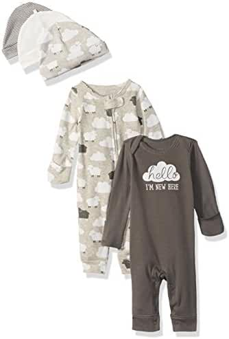 Carter's Baby 5-Piece Coverall and Cap Set