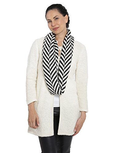 Women's Chevron Circular Baby Alpaca Infinity Scarf by Incredible Natural Creations from Alpaca - INCA Brands