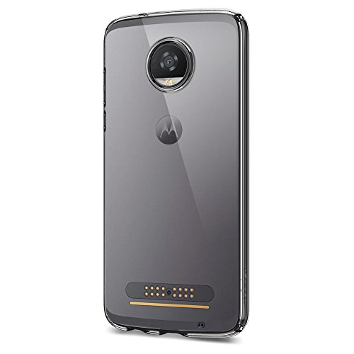 Price comparison product image Spigen Liquid Crystal Moto Z2 Play Case with Slim Protection and Premium Clarity for Moto Z2 Play - Crystal Clear