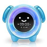 Best Alarm Clocks For Kids - KNGUVTH Alarm Clock for Kids Bedrooms, Children Sleep Review