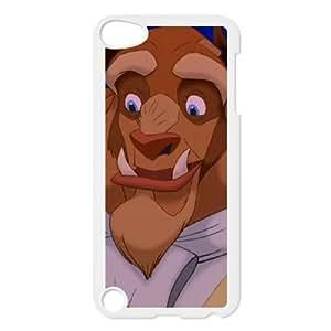 iPod Touch 5 Case White Disneys Beauty and the Beast 071 EUA15988890 Phone Case Fashion Custom