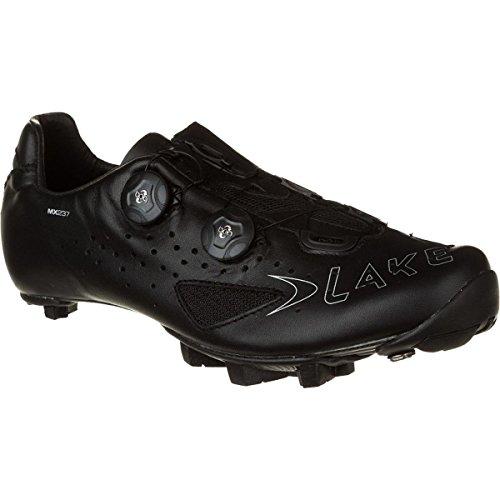 Lake MX237 Cycling Shoe - Wide - Men's Black/Black, 43.0/Wide