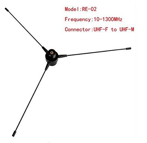 FANVERIM 10-1300MHz Ground UHF SMA-F Antenna For Car Mobile Radio Motorola ICOM KENWOOD