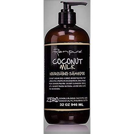 Renpure coconut milk shampoo 32 oz by RENPURE