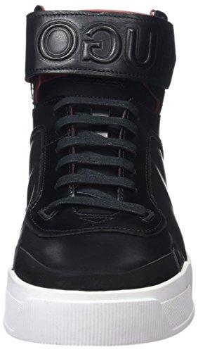 Black hito Hugo Hautes Symmetric Homme Baskets Noir Noir q0RSv