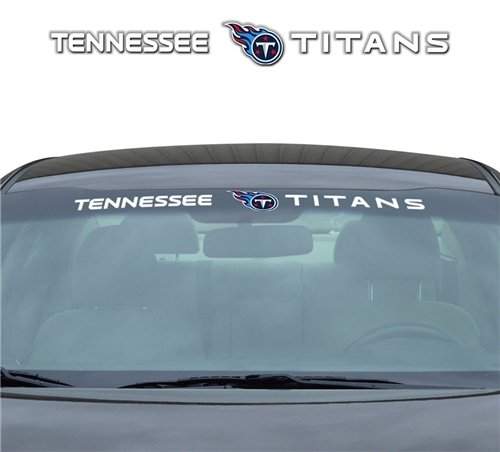 Tennessee Titans 35''x4'' Windshield Decal