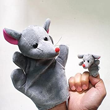 TY ratones increíble ratón de peluche de juguete marionetas de mano juegos infantiles guante