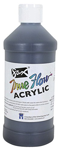 Sax True Flow Medium-Bodied Acrylic Paint - Pint - Mars Blac