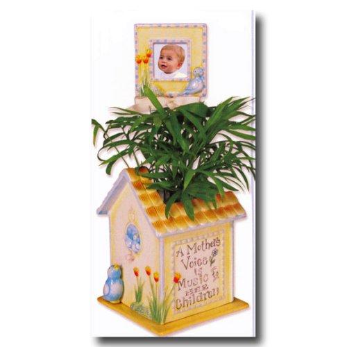 Child to Cherish Bird House Flower Pot for Mother