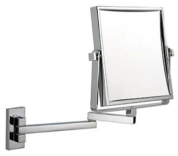 Luxury Square Extending Shaving Makeup Mirror
