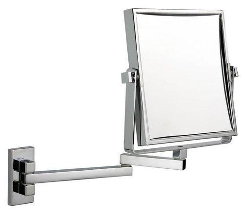 Luxury square extending shaving makeup mirror   chrome  Amazon co uk   Health   Personal Care. Luxury square extending shaving makeup mirror   chrome  Amazon co