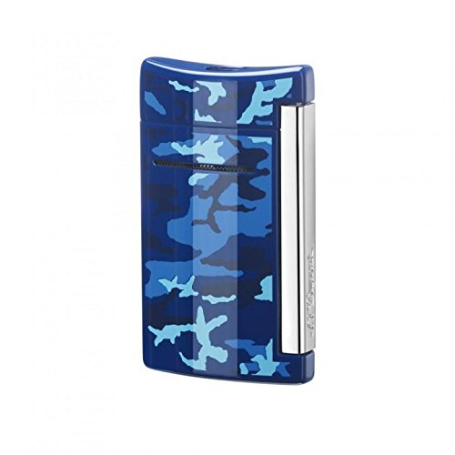 S.T. Dupont Minijet Lighter - Blue Camo by Minijet