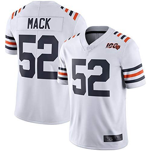Men's #34_Walter Payton_Chicago_Bears_White 2019 100th Season Alternate Classic Limited Jersey (S) (2XL) ()