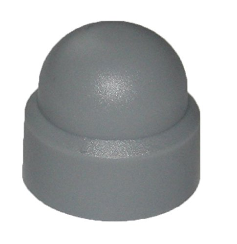 10 x 17 Gris Dresselhaus tapones para hexagonal tuercas DIN 1587 50 pcs tama/ños