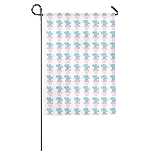 Wyfcxc Cactus Winter Garden Flags Fluttering 12 X 18 Emblemi