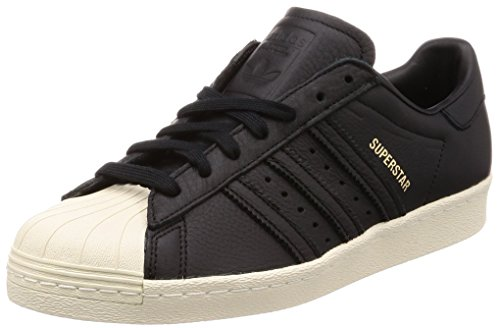 adidas Herren Superstar 80s Hohe Sneaker Schwarz (Core Black/Green/Red-Sld)
