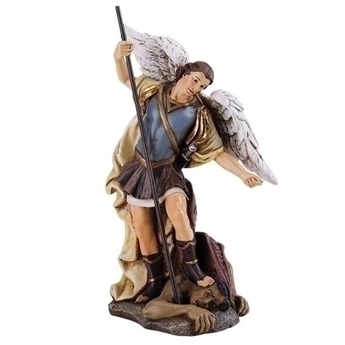 - Church Supply Warehouse Joseph Studio Renaissance Saint Michael the Archangel Religious Figurine 46480 Multicolor