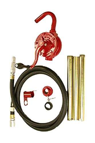 National-Spencer 961 Rotary Pump with Rubber Hose and Holster for 15 gal-55 gal Drum by National-Spencer, Inc.