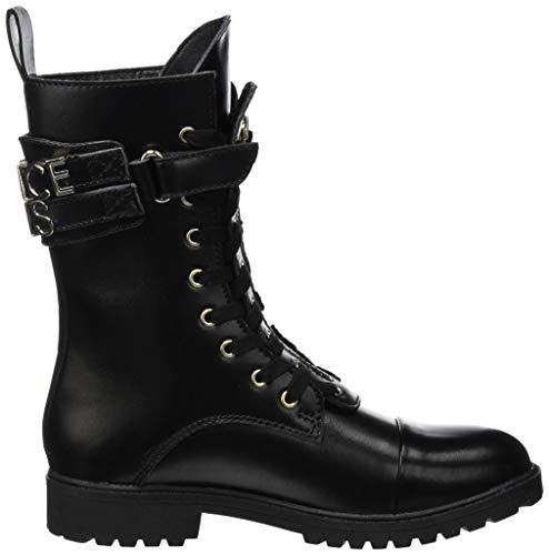 Femme Rangers Donna et Versace Stivali Noir Nero Jeans Bottines E899 Bottes nqwYEE0Z