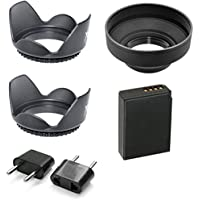 Canon Lens Accessory Kit With LP-E10 Battery