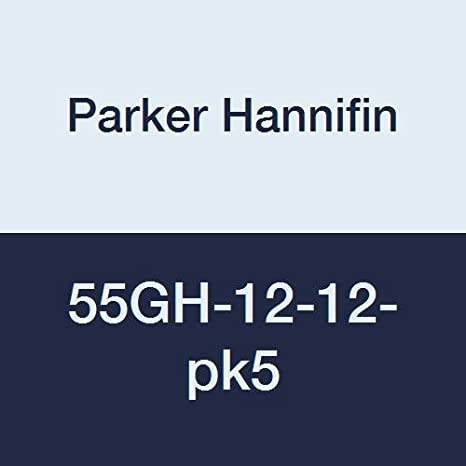 Parker Hannifin 55GH-12-12 Brass Garden Hose Fitting 3//4 Hose Barb x 3//4 Male Hose Thread