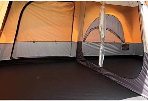 Tent for Camping Winddicht, 8-persoons Camping Tent, Grote Mesh Windows, dubbele lagen, Aparte Gordijnen (voor gescheiden kamers), Portable draagtas, All Season