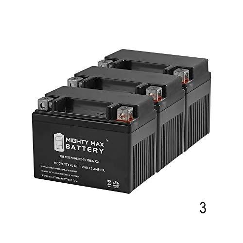 ytx4l-bs Replaces I - faytx4lホンダxr250l xr250r – 3パック – Mighty Maxバッテリーブランド製品