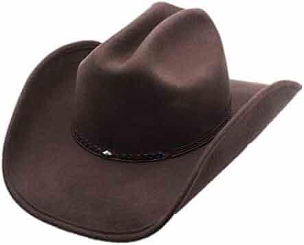 dd7dd18465e Men s Wool Cowboy Hat Cody Shapeable Western Felt Hats by Silver Canyon