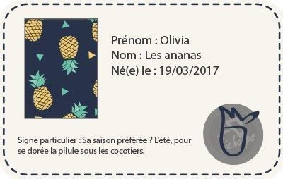 Tichoups Chaussons b/éb/é cuir souple Olivia les ananas 16//17