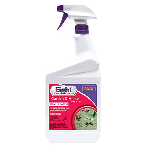 Eight Insect Control - Bonide 428 Ready to Use Tomato and Vegetable Insect Spray, 32-Ounce