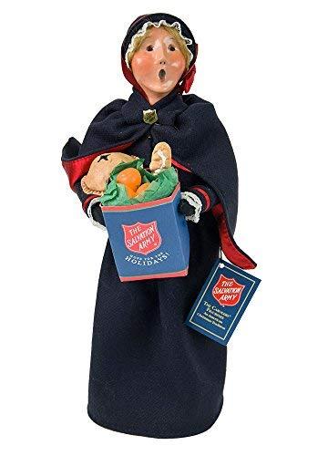 Byers' Choice Salvation Army Woman Shopper Caroler Figurine #4411E