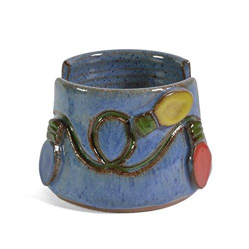 MudWorks Pottery Christmas Lights Sponge Holder