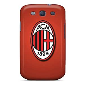ERvaA11195PrBQd Anti-scratch Case Cover ChanceTom Protective Ac Milan Case For Galaxy S3