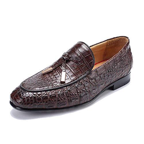 Pigre in Scarpe Confortevole Goodyear Elegante Business Uomo d'Affari Pelle Scarpe Leisure Ed da Brown zwgpxZZqU