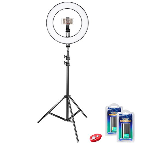 Cheap Macro & Ringlight Flashes Neewer 14-inch Outer Dimmable Bi-color SMD LED Ring Light Lighting Kit for..