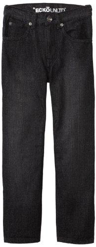 (Ecko Big Boys' Core Jeans, Black, 12)